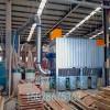 山东木地板厂单机布袋除尘器的构造