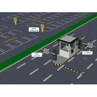 山西思可达自动栏杆机高速公路收费系统车牌识别道闸一体机