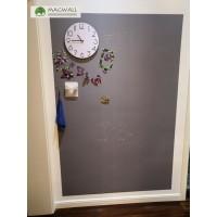 磁善家磁性吸附无钉免胶安装磁性黑板墙 灰色黑板墙贴