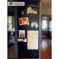 批发磁善家居家无尘擦写贴墙儿童软黑板磁性吸附
