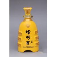 1斤陶瓷艺术酒瓶订制厂家,3斤5斤装红瓷酒瓶批发价格
