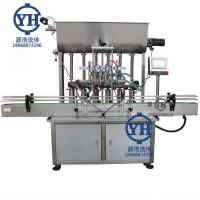 源浩厂家生产全自动膏体液体灌装机 搅拌灌装机