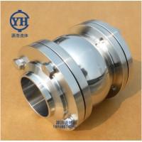 源浩厂家供应不锈钢球形止回阀 卫生级三片式焊接止回阀