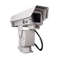 可见光中远距离长焦透雾高清一体化智能云台摄像机